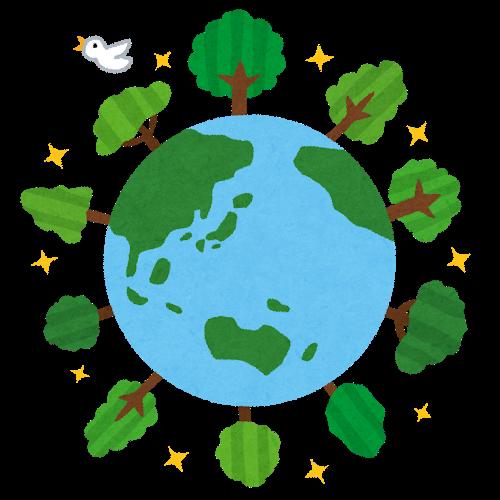 地球をとりまく環境の画像