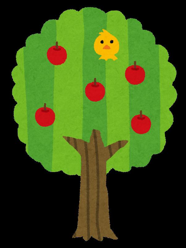 フルーツの木の画像